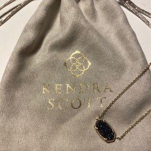 Navy blue Kendra Scott necklace